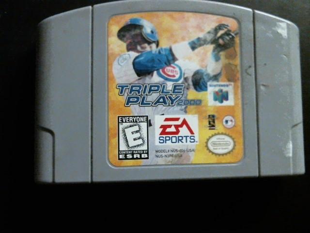 NINTENDO Nintendo 64 Game TRIPLE PLAY 2000