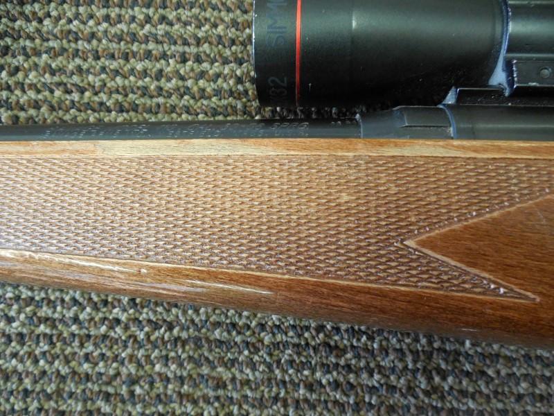 SAVAGE ARMS RIFLE MODEL 110 .30-06 SPRINGFIELD W/ SIMMONS 3-9X32 SCOPE