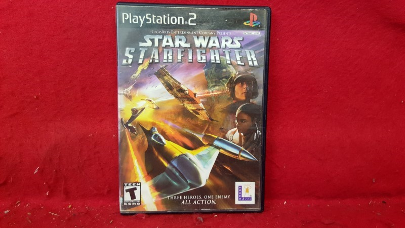 SONY Sony PlayStation 2 Game STAR WARS STARFIGHTER