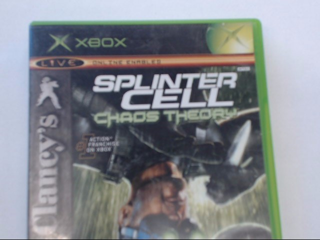 XBOX - SPLINTER CELL CHAOS THEORY