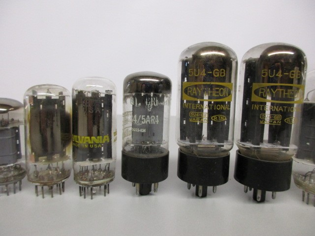 LOT OF 25 TUBES, UNTESTED.