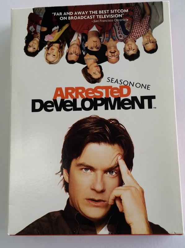 ARRESTED DEVELOPMENT SEASON ONE DVD, GOOD CONDITION