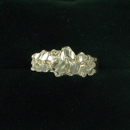 Lady's Gold Ring 10K Yellow Gold 1.4dwt