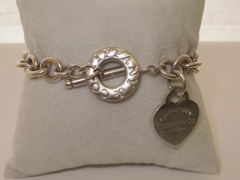 Tiffany & Co. Silver Bracelet 925 Silver 42.8g