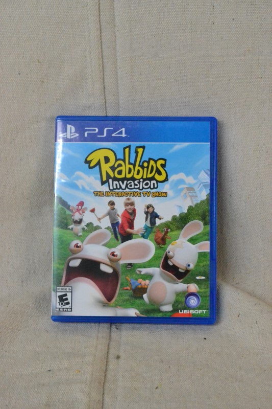 Rabbids Invasion: The Interactive TV Show, PS4