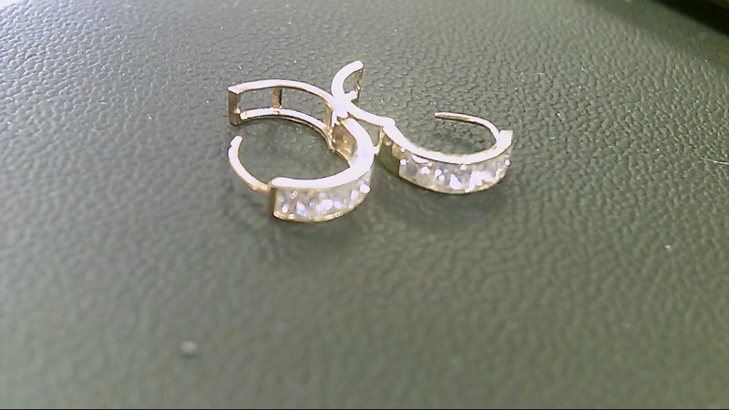 Gold Earrings 10K Yellow Gold 1.3g