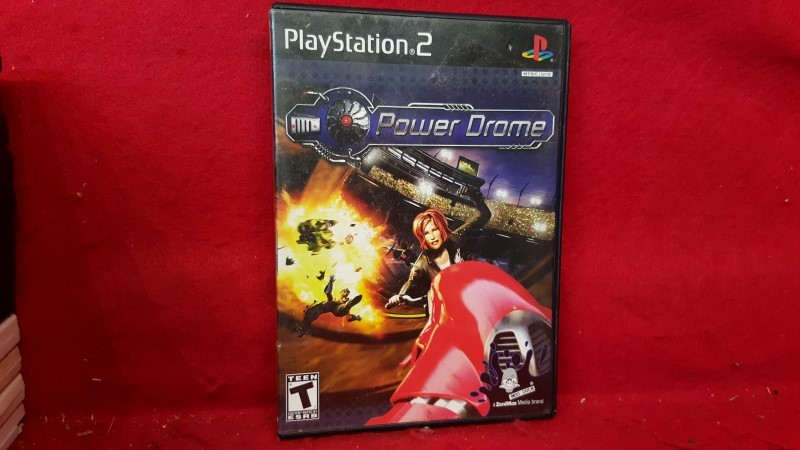 SONY Sony PlayStation 2 Game POWER DROME (2004)