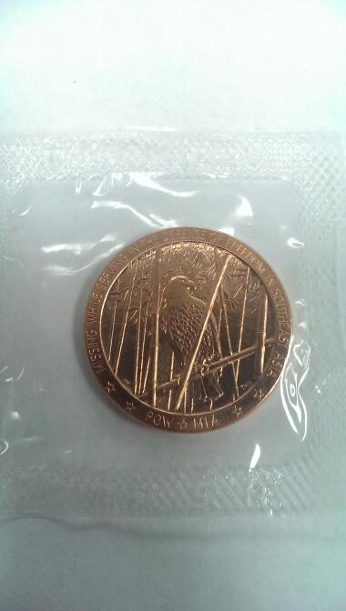 VIETNAM VETERANS YOU ARE NOT FOR FORGOTTEN COIN