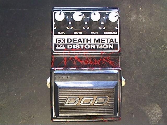 DOD Effect Equipment FX86B DEATH METAL DISTORTION