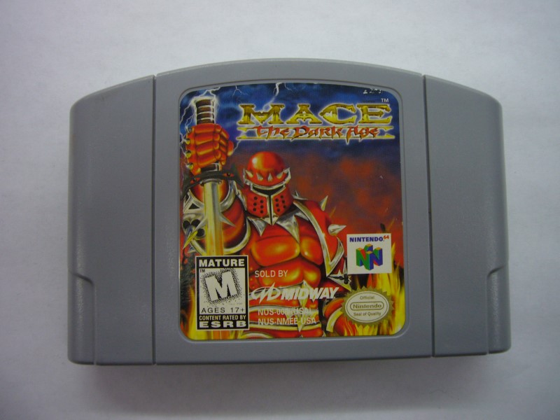 NINTENDO 64 Game MACE THE DARK AGE *CARTRIDGE ONLY*