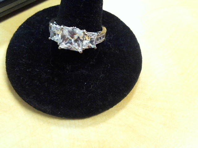 Lady's Silver Ring 925 Silver 4.5g Size:4.5