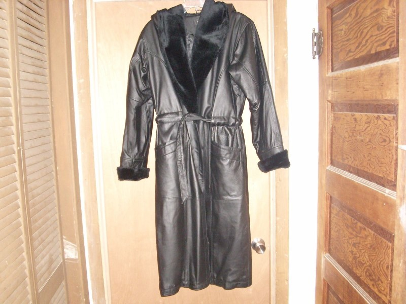 COLE BROOK Clothing LEATHER COAT
