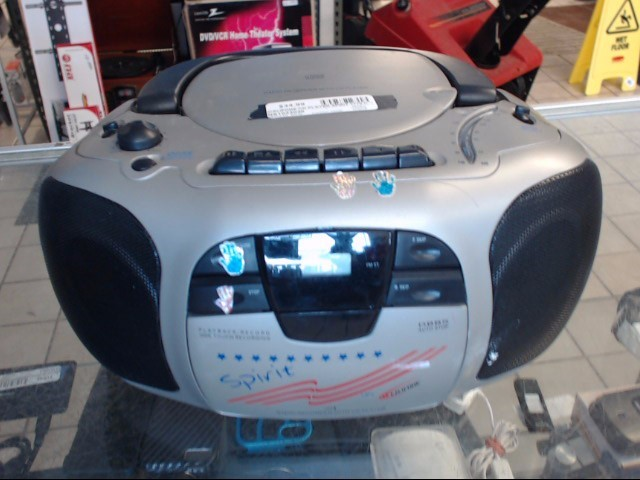 CALIFONE Portable CD Player SPIRIT 1776 CD PLAYER