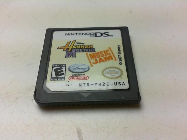 NINTENDO Nintendo DS Game HANNAH MONTANA MUSIC JAM