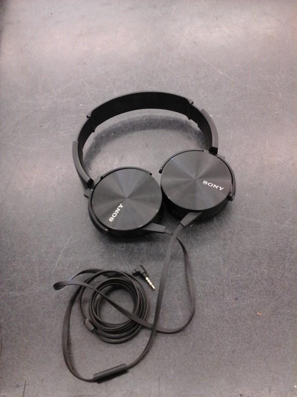 SONY Headphones MDR-XB450AP