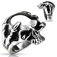 Gent's Ring Silver Stainless 8dwt