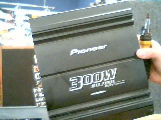 PIONEER ELECTRONICS Car Amplifier GM-4000F