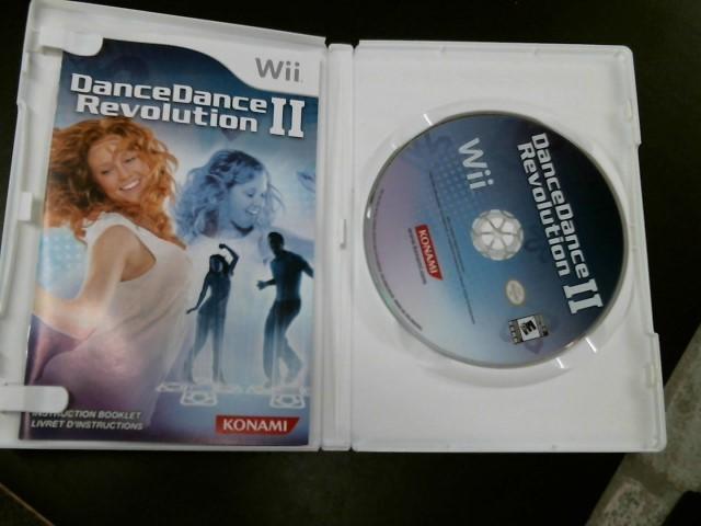NINTENDO Nintendo Wii Game WII DANCE DANCE REVOLUTION 2