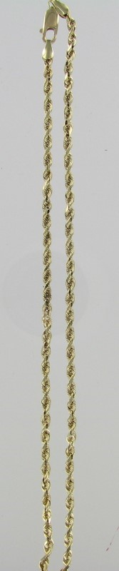 Gold Chain 10K Yellow Gold 6.4dwt