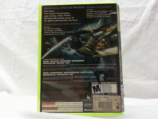 MICROSOFT Microsoft XBOX 360 Game DARK SECTOR