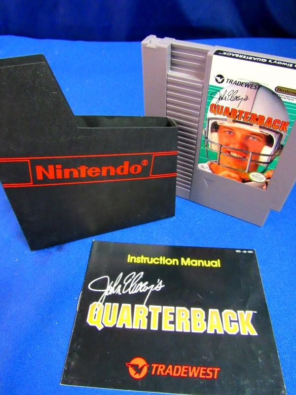NES: JOHN ELWAY'S QUARTERBACK