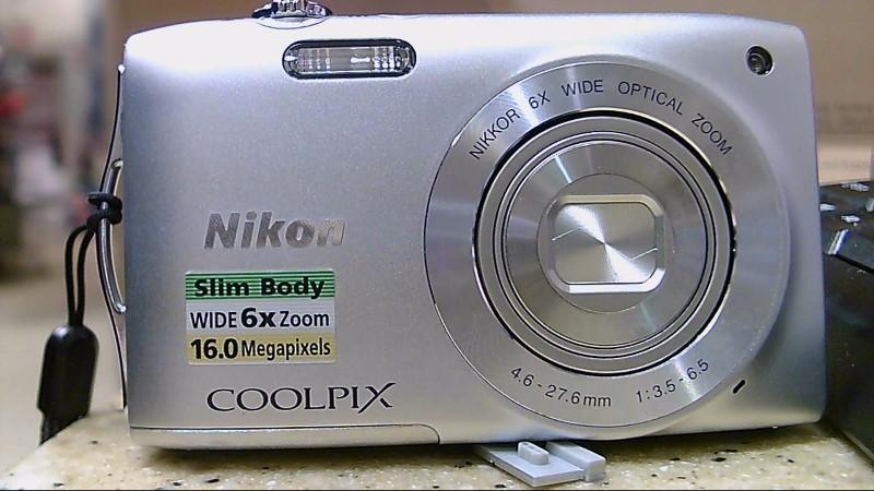 NIKON Digital Camera COOLPIX S3200