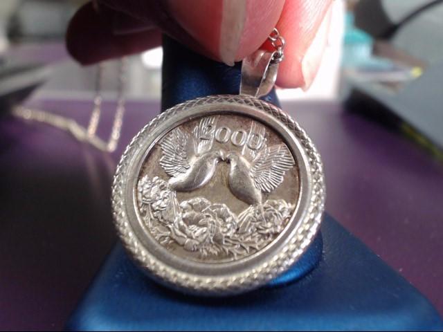 Silver Pendant 925 Silver 13.7g