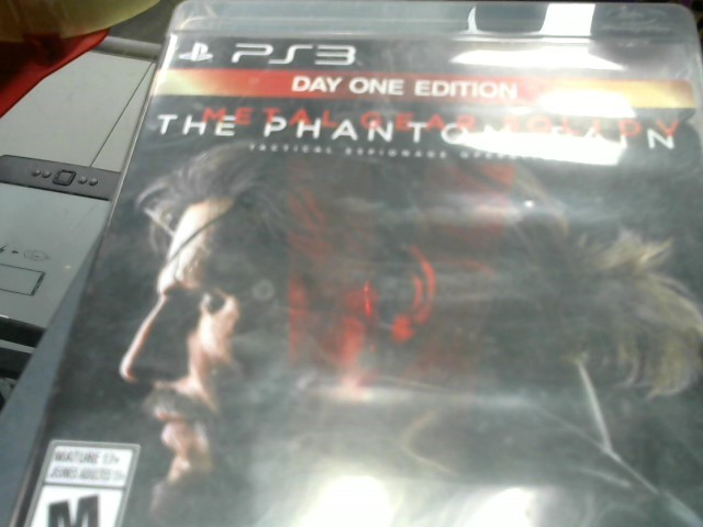 SONY Sony PlayStation 3 Game METAL GEAR SOLID V THE PHANTOM PAIN