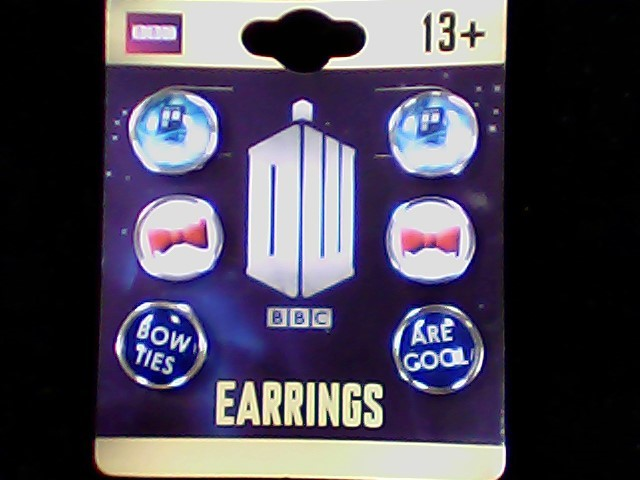 Earrings Silver Stainless 7.5g