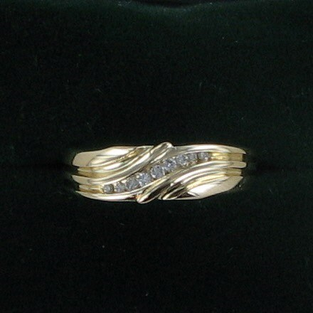 Gent's Gold Wedding Band 14K Yellow Gold 3.6dwt