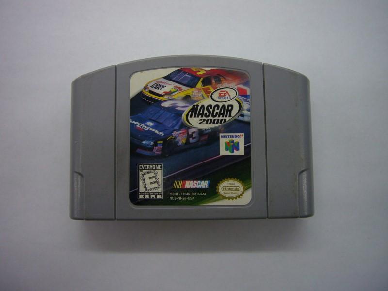 NINTENDO 64 Game NASCAR 2000 *CARTRIDGE ONLY*