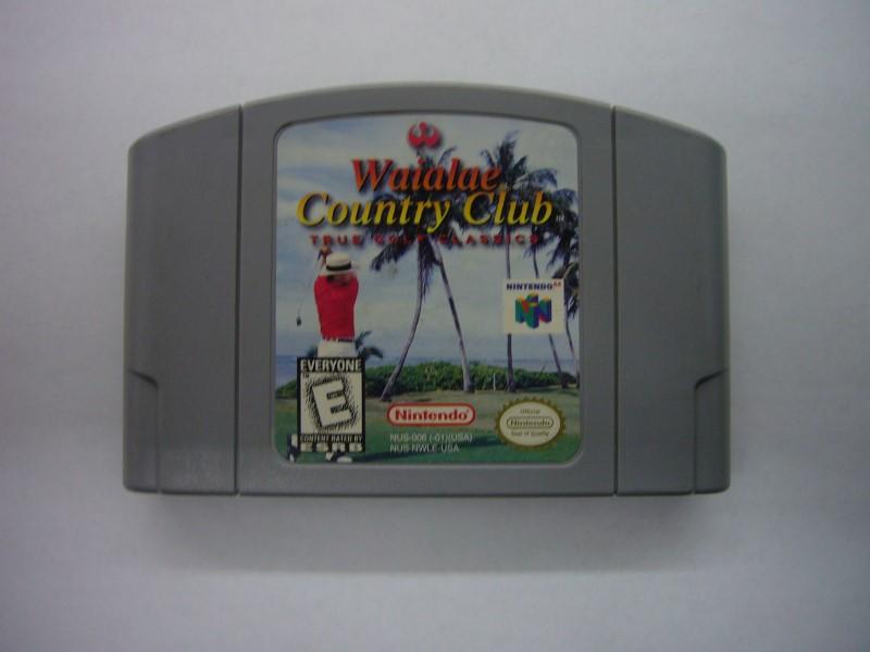NINTENDO 64 Game WAIALAE COUNTRY CLUB *CARTRIDGE ONLY*