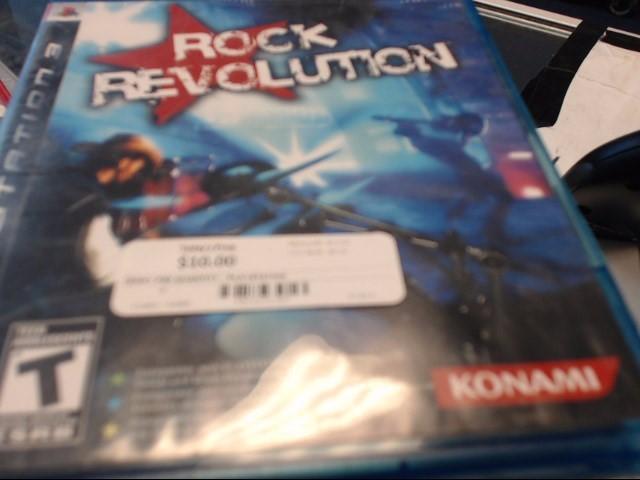 SONY PS3 ROCK REVOLUTION
