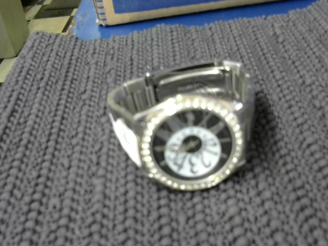 WATCH JEWELRY INVIVTA 0070; BLUE FACE SILVER BAND