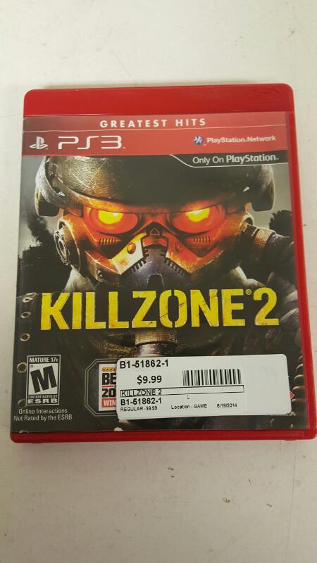 Killzone 2 (Sony PlayStation 3, 2009) FREE SHIPPING