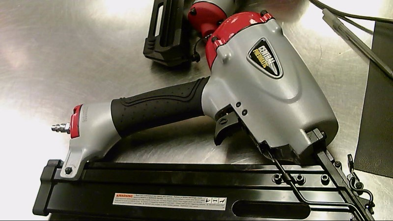 """CENTRAL PNEUMATIC FINISH NAILER 1-1/4 TO 2-1/2"""" 61887"""