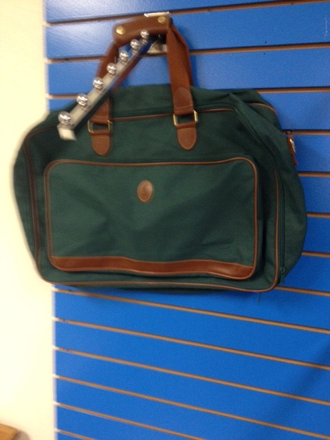 POLO BY RAPHEL LAUREN GREEN CARRY-ON BAG