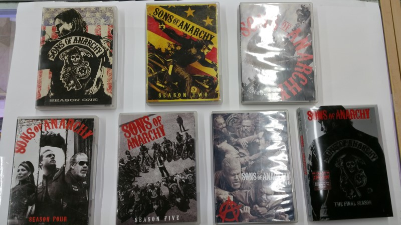 Sons Of Anarchy Complete DVD Set