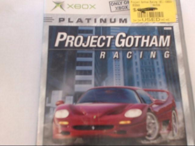 XBOX - PROJECT GOTHAM RACING