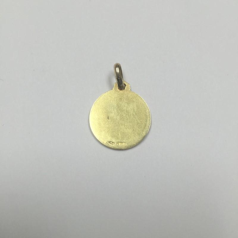 Gold Charm 18K Yellow Gold 1.8dwt