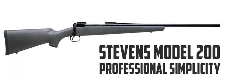 STEVENS ARMS Rifle MODEL 200