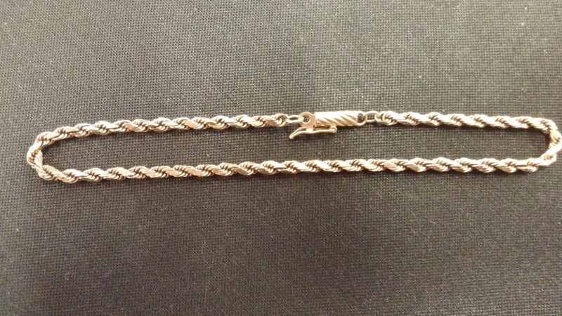 Gold Bracelet 14K Yellow Gold 3.4dwt