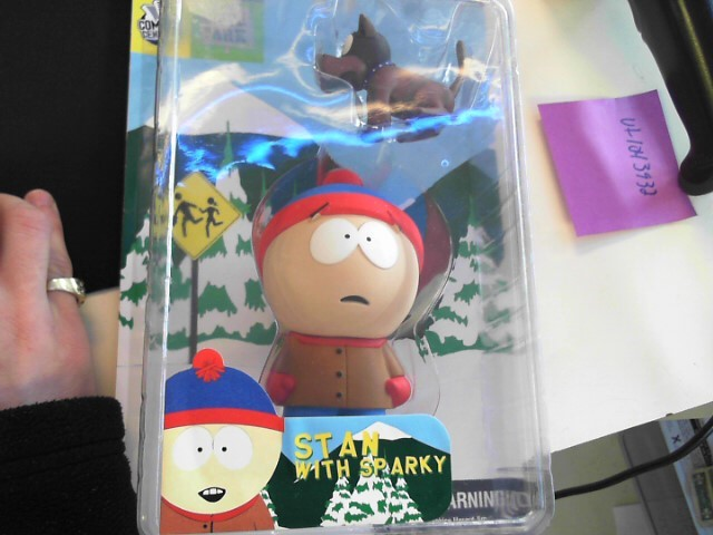 SOUTH PARK Classic Toy STAN WITH SPARKY