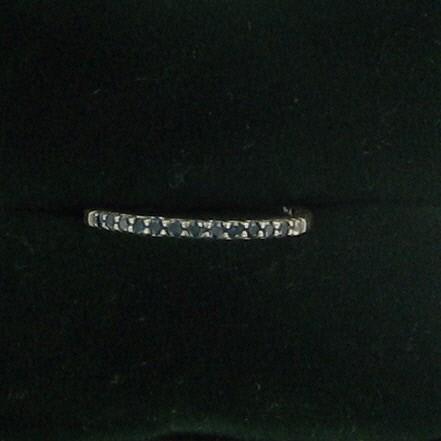 Lady's Gold Ring 14K White Gold 0.6dwt