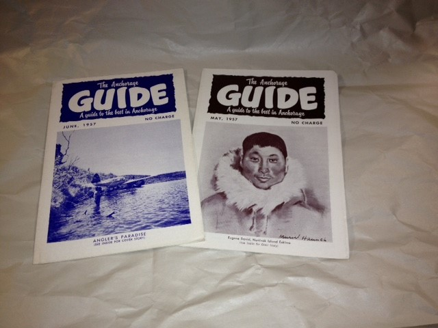 ANCHORAGE GUIDE BOOKS MAY/JUNE 1957 2X