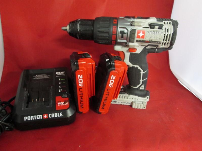 PORTER CABLE Cordless Drill PCC620