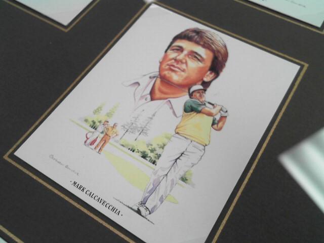 1990 AMERICAN GOLFER TABACCO CARDS