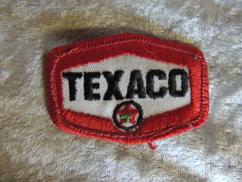 TEXACO Full Service Gas Oil Uniform PATCH Vintage Original