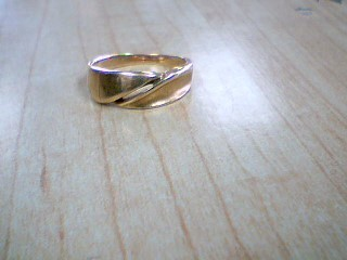 Gent's Gold Ring 14K Yellow Gold 3.7g Size:8