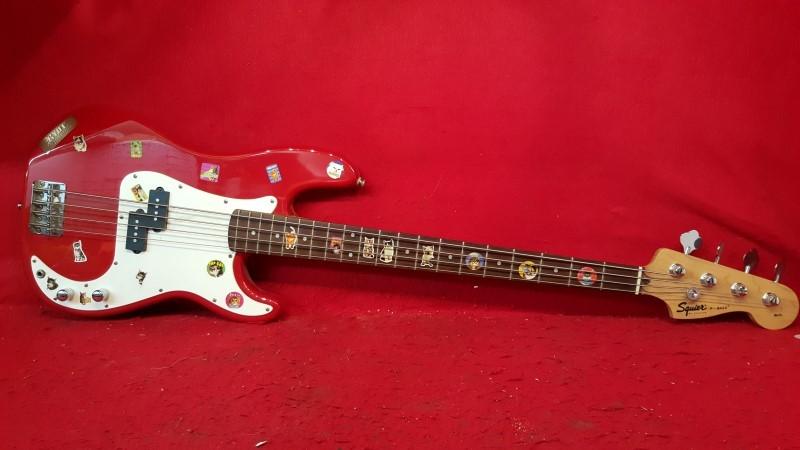 "FENDER Bass Guitar SQUIER PRECISION ""Cat Lover Edition"""